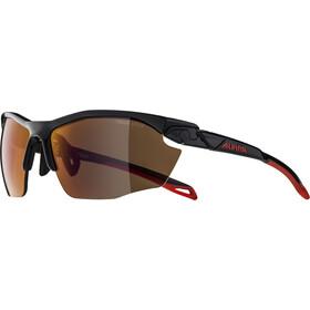 Alpina Twist Five HR HM+ Brille black red/red mirror